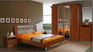 Спальня Европа 4 (орех)